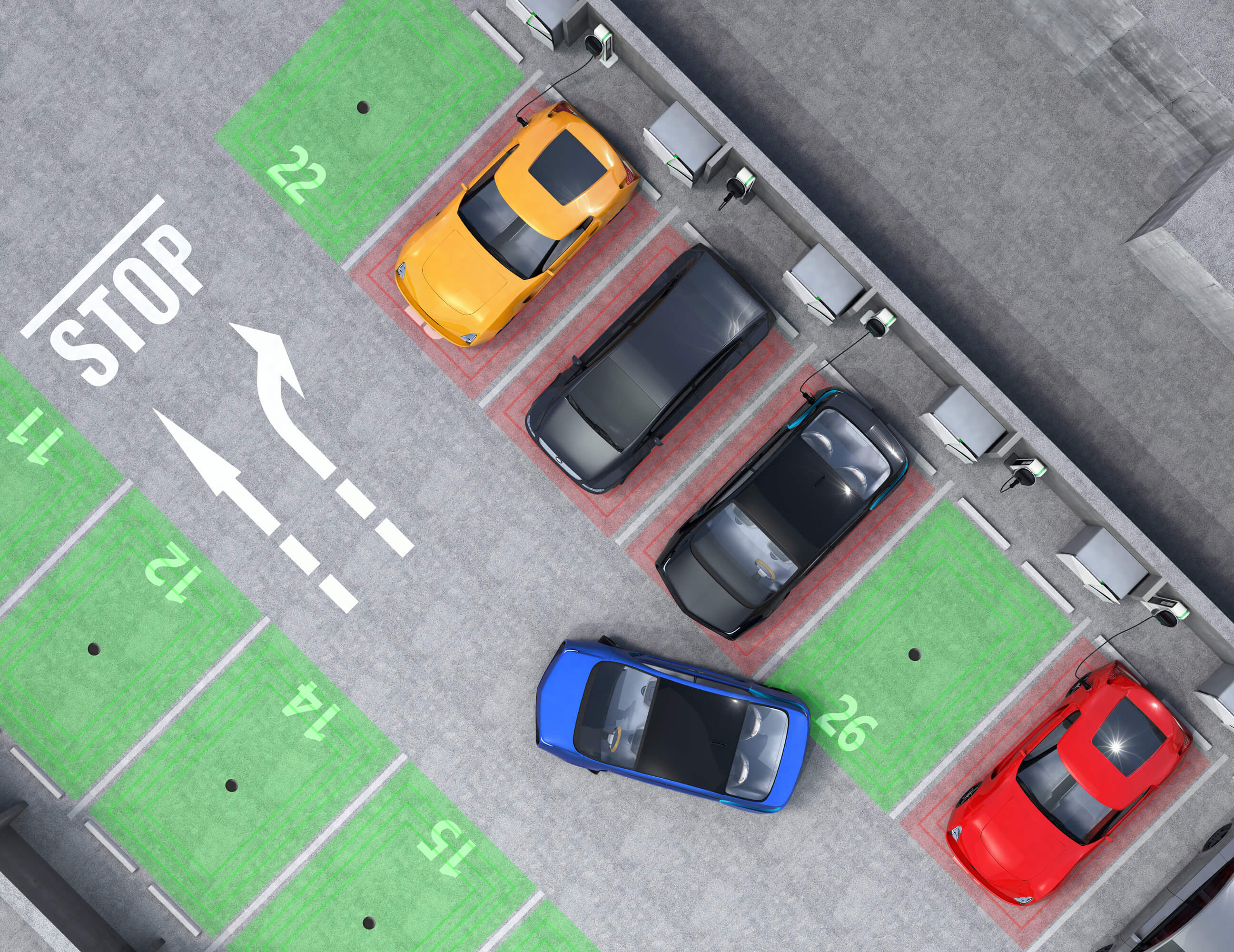 smart parking solution sirin software
